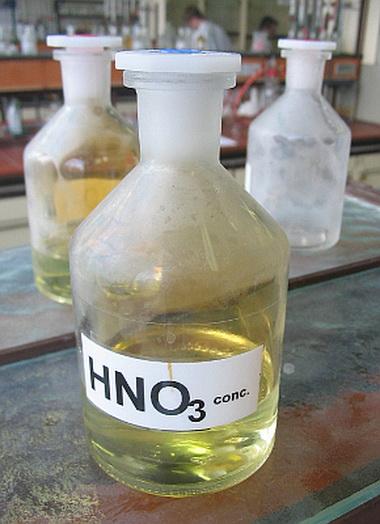 Азотная кислота (Acidum nitricum)