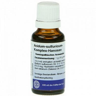 Серная кислота (Acidum sulfuricum)